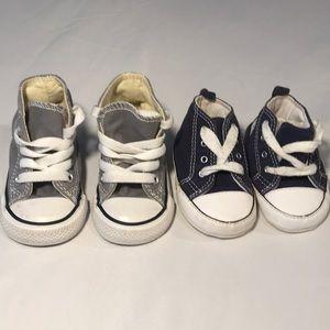CONVERSE INFANT BUNDLE SIZE 3 SNEAKERS